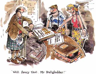 Tartanry is a form of Celtic Kitsch much abhored by the true Scot.  The history of Alba is far more than haggis, bagpipes, and kilts.  See for yourself.